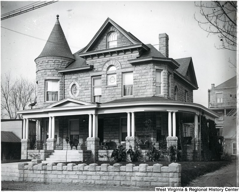 The Aull Center is located in the historic Garlow House, a decorative Queen Anne style house built in 1907.