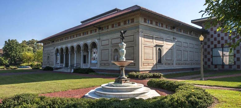 Allen Memorial Art Museum, Katherine Wright Memorial Fountain