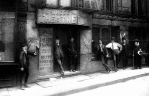 Theater Around 1900
