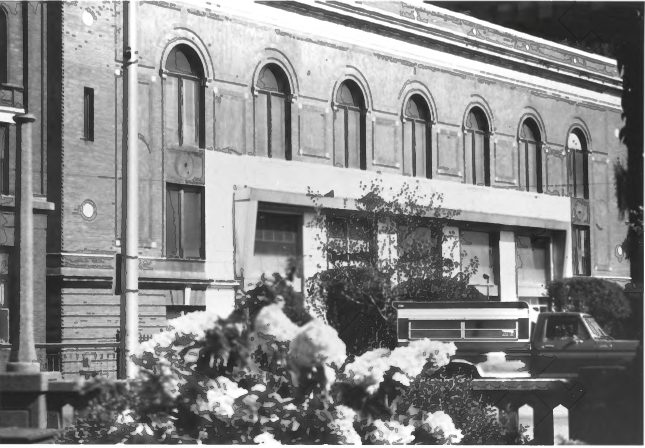 3rd View of the Morse Building in the Norumbega Mall by Gregory Clancey in October of 1983, Public Domain Photo Provided by NPS