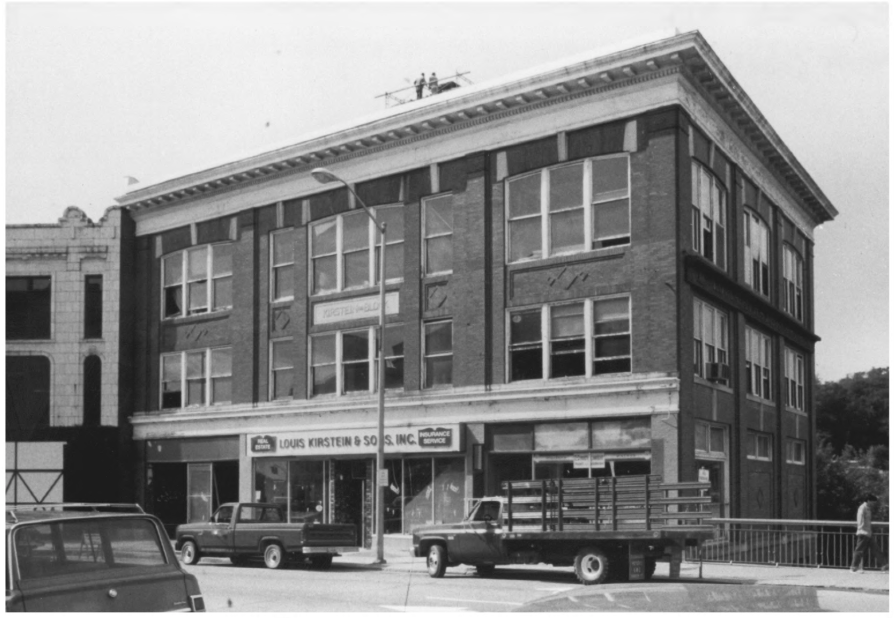 Kirstein Block by Gregory Clancey in October of 1983, Public Domain Photo Provided by NPS
