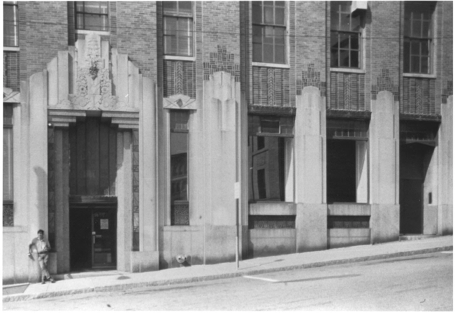 The Bangor Telephone Exchange by Gregory Clancey in October of 1983, Public Domain Photo Provided by NPS