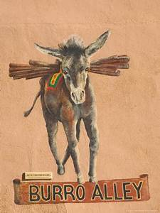 The Famous Symbol of Burro Alley