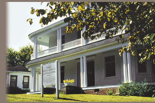 This historic home is the location of the Oakes African American Cultural Center, which celebrates the contributions of the Oakes family other African Americans in Yazoo City and the surrounding region.