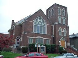 Simpson Memorial United Methodist Church, Charleston WV