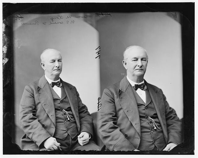 Dr. Owen Moxley Long as taken ca. 1869 by the studio of Mathew Brady in Washington, D.C.