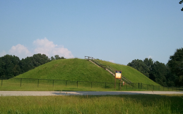 The Choctaw Indians consider Nanih Waiya Mound to the heart of their culture.
