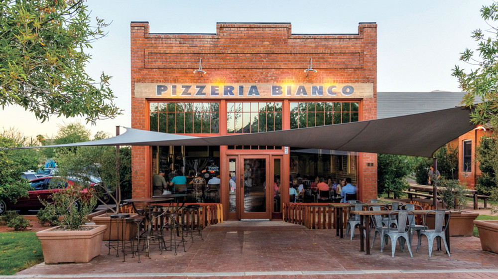 Baird Machine Shop operating as Pizzeria Bianco.
