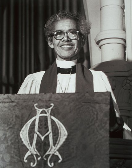 Rev. Pauli Murray was the first women Episcopal Church Priest.
