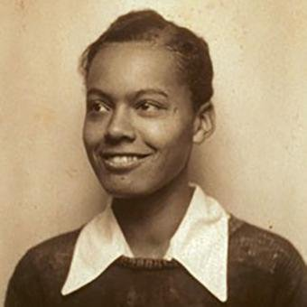 Young Pauli Murray activist, lawyer, author, and educator