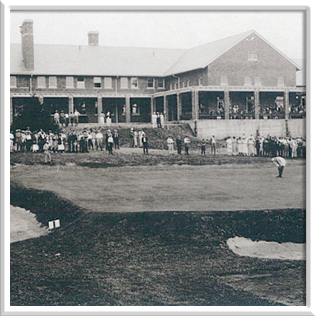 The Inverness Club during the 1920 U.S Open