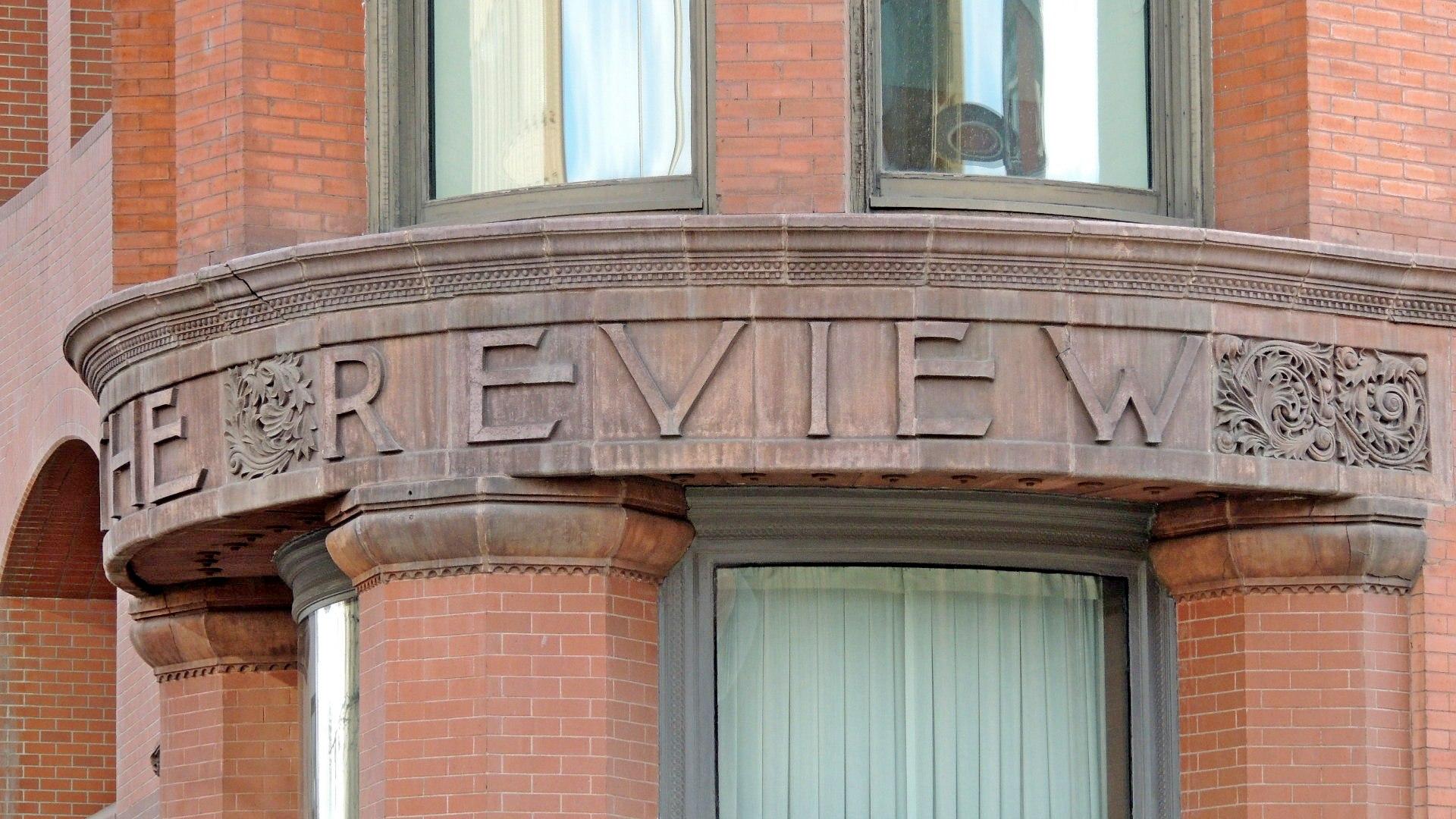 "Source: Waymarking.com, ""Review Building - Spokane, WA Image"""