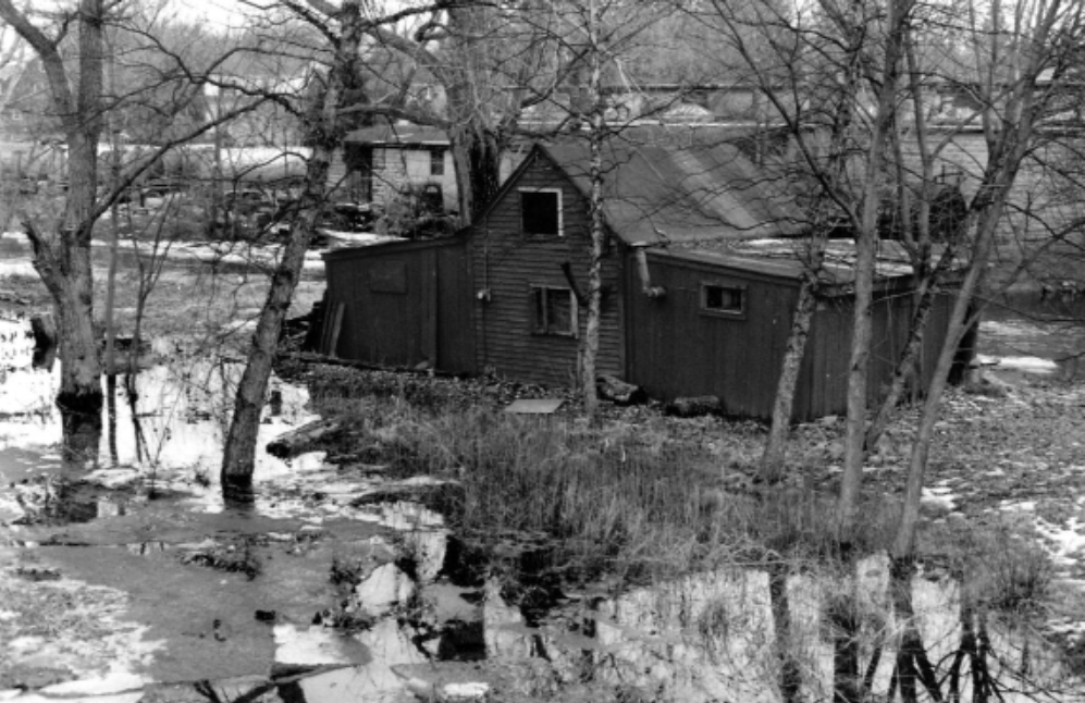 The boat house in its later years