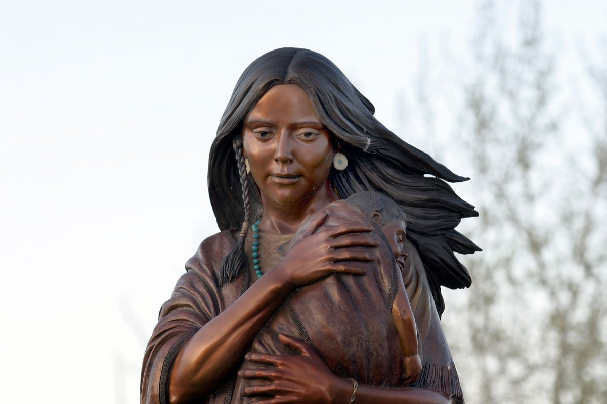 "Her name was translated to ""Bird Women"". 