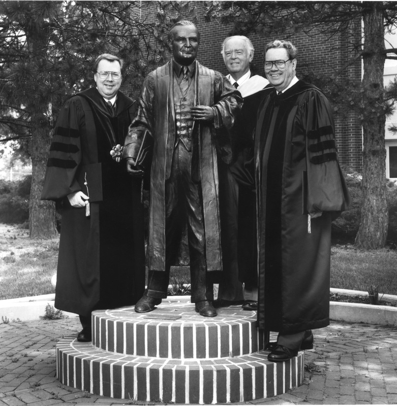 The first four Presidents of Anderson University