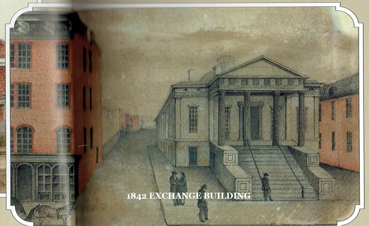 Exchange Building in 1842