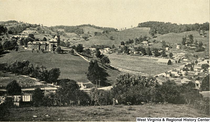 West Virginia Industrial Home for Girls, Salem, Harrison County, W. Va. Courtesy of West Virginia & Regional History Center