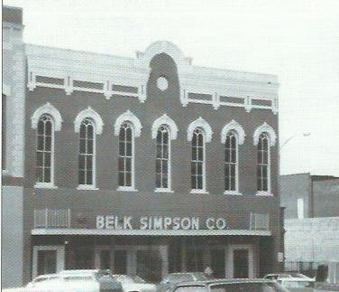 Belk-Simpson, was the last in a series of department stores to occupy first floor and basement selling spaces in the last half of the 20th century. (2)