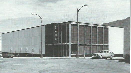 Bank of Carthage #2 Building, circa 1960. Photo in collection of Powers Museum.