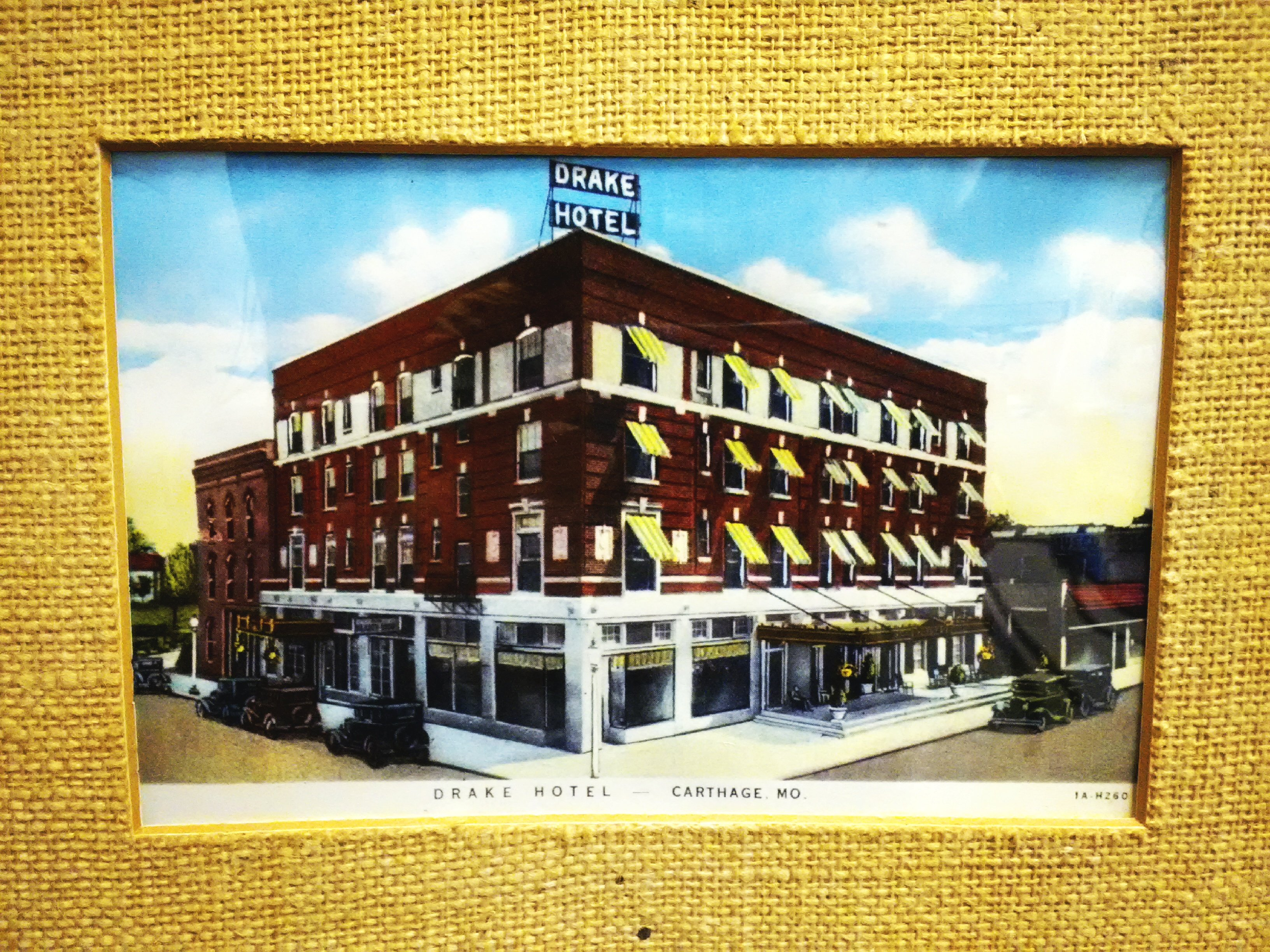Postcard of Drake Hotel, circa 1935-40.