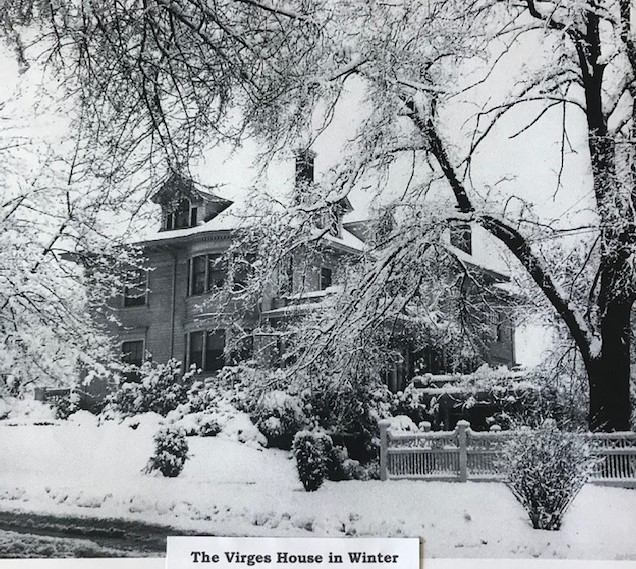 The Virges House in Winter