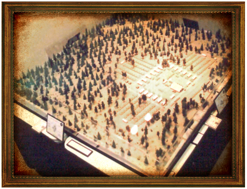 Fort Tuthill Diorama (display of Regimental Training Facility for 158th Infantry Regiment)