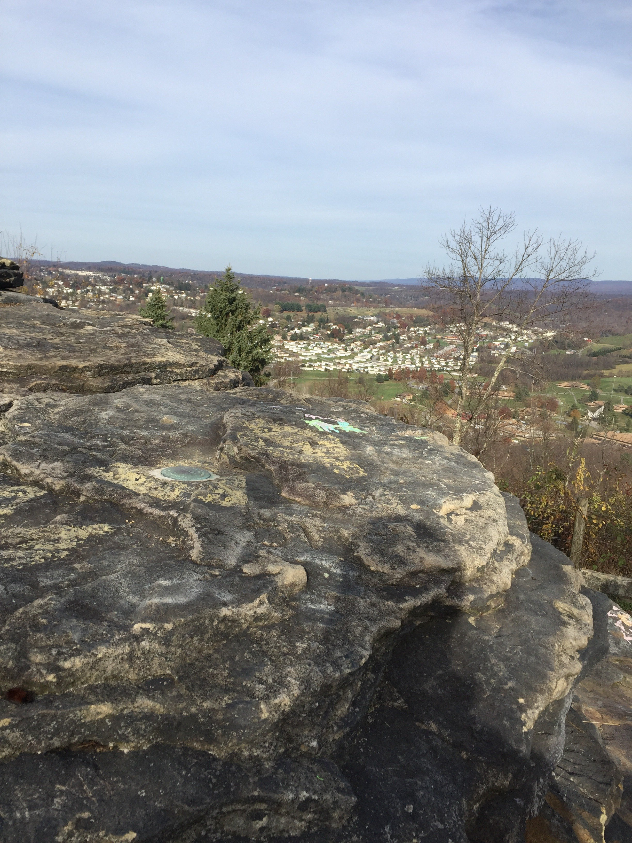 View from Sky Rock. Photo taken November 11, 2017.