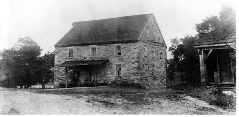 The Gambrill Mill in 1893