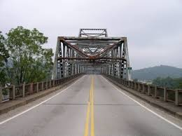 The Winfield Toll Bridge was built in 1955.
