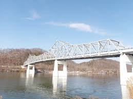 The Winfield Toll Bridge was then renovated in 2010.