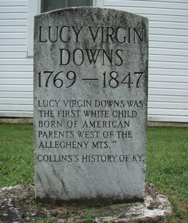 Lucy's former headstone.
