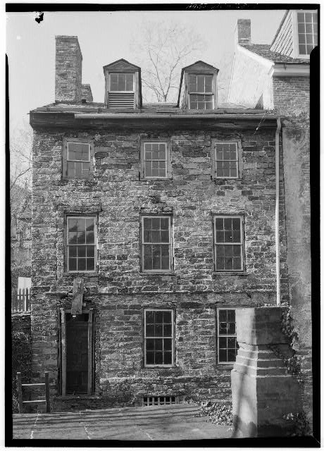 The Harper House in the mid-twentieth century. A porch was added sometime after this.