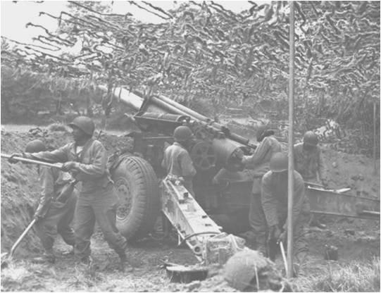 333rd Field Artillery Battalion WWII