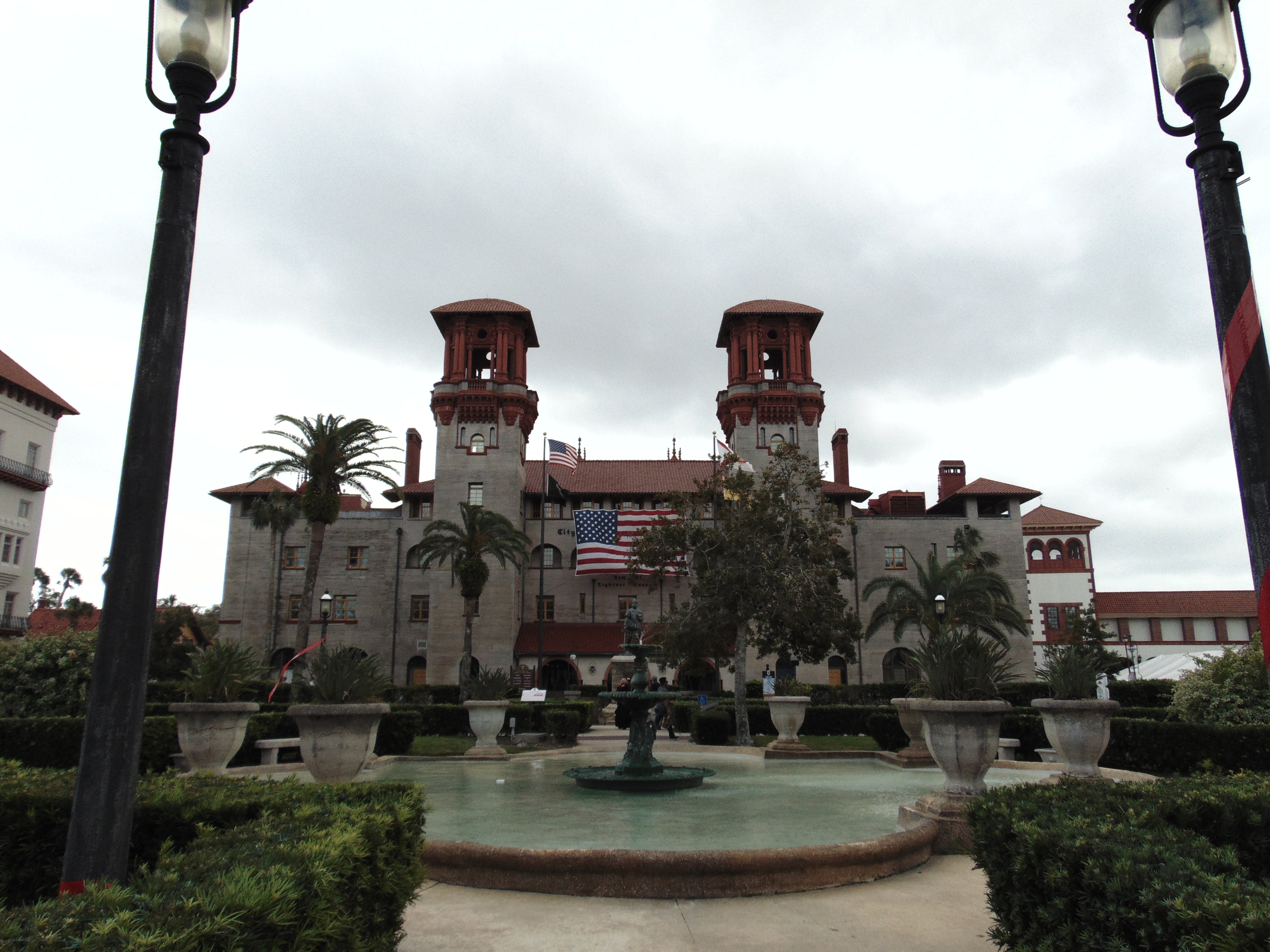 The front of the Lightner Museum.