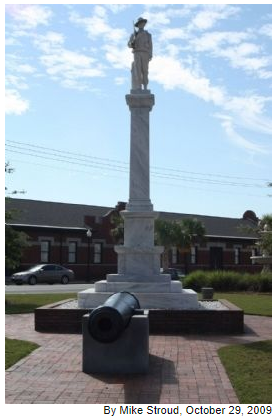 Waycross Confederate Monument- Full photograph