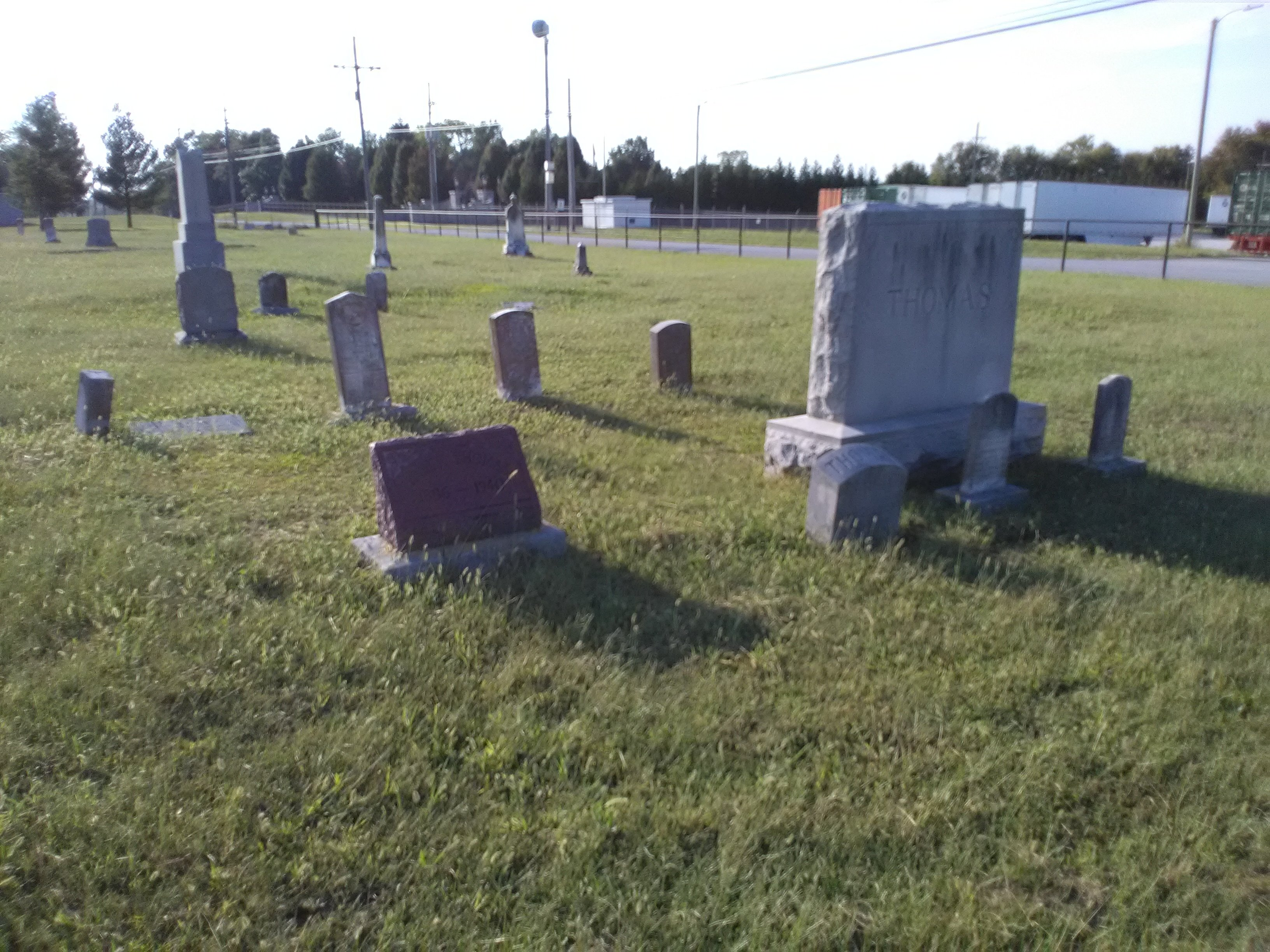General view of Cedar Hill Cemetery, 2017.