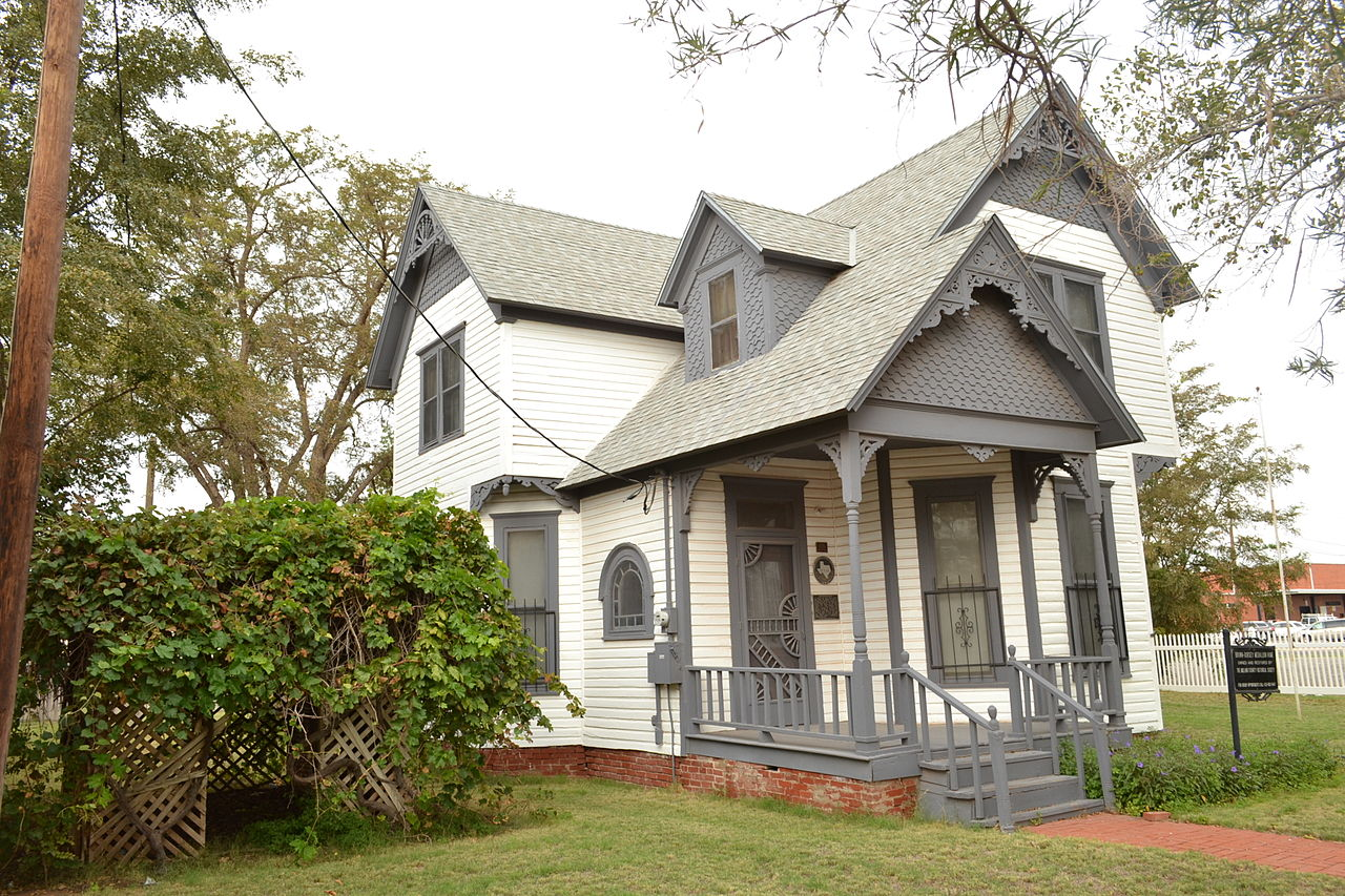 The Brown-Dorsey House is considered to be the oldest house in Midland.