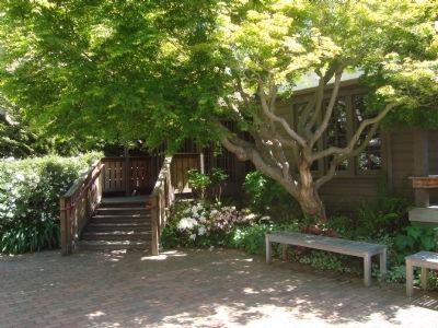 Entryway to the Berkeley Piano Clubhouse