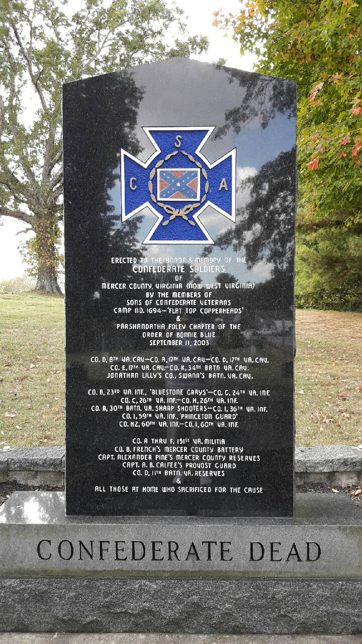The front of the Confederate Memorial
