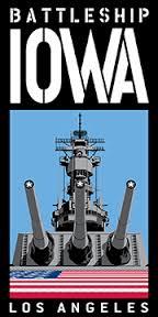 USS iowa Warship poster