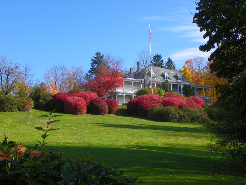 Photograph of the Mansion in October of 2011 by Phil C. Walton