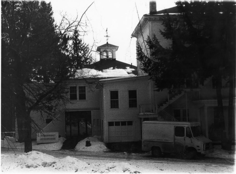West Side of Charles E. Tilton Mansion by Allan and Celia Willis in January of 1981