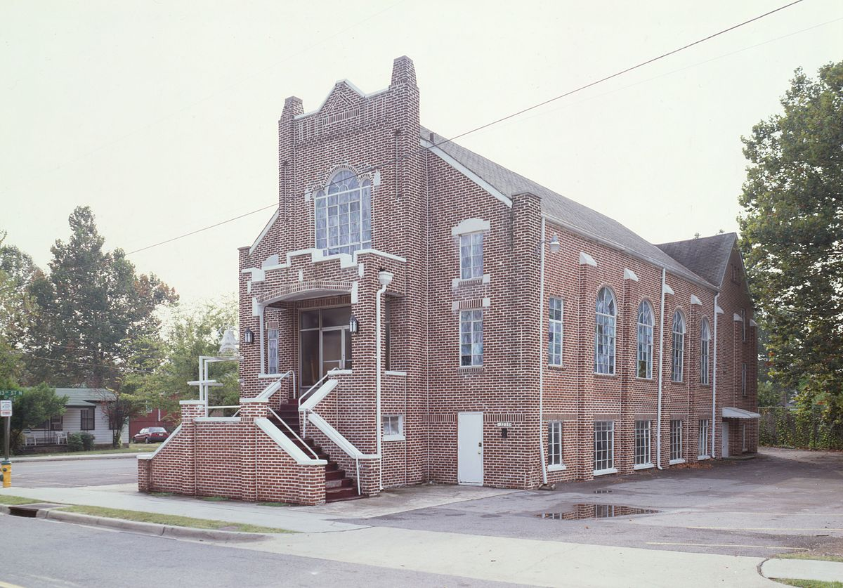 Built in 1929, the old Bethel Baptist Church is one of the most important sites of the Civil Rights movement.
