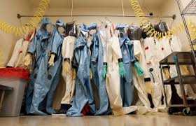 Typical protection suits.