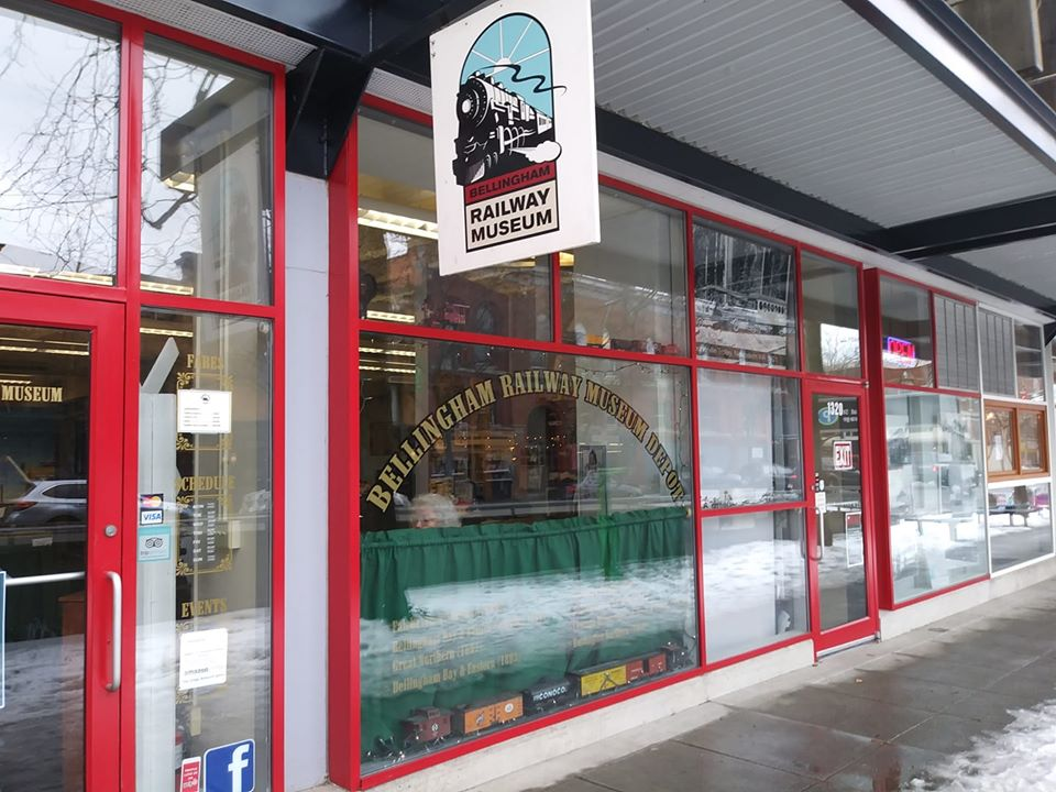 The Bellingham Railway Museum features model trains, model train layouts, photographs, equipment and other railroad items on display.