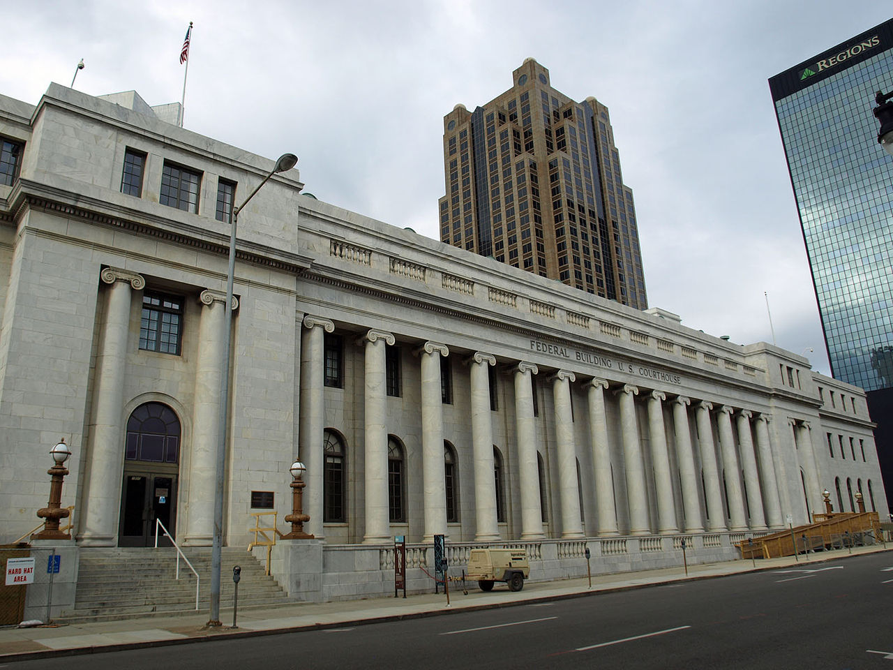 The Robert S. Vance Federal Building and United States Courthouse was built in 1921 and is significant for its architecture. Today it houses the U.S. Bankruptcy Court for the Southern District of Alabama.