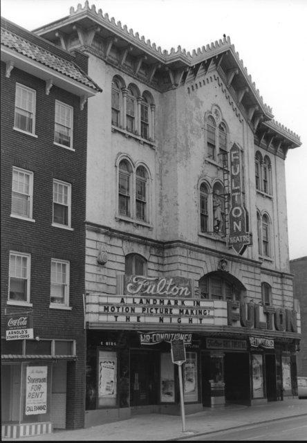 The Fulton circa 1950s