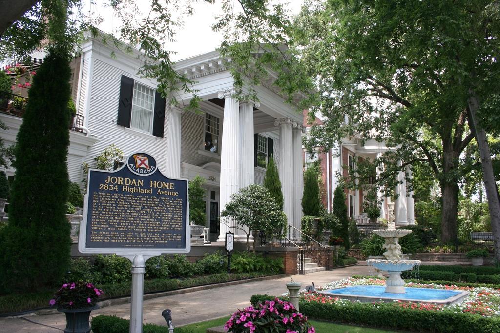 The Jordan Home was built in 1908 by its namesake, physician Mortimer H. Jordan.