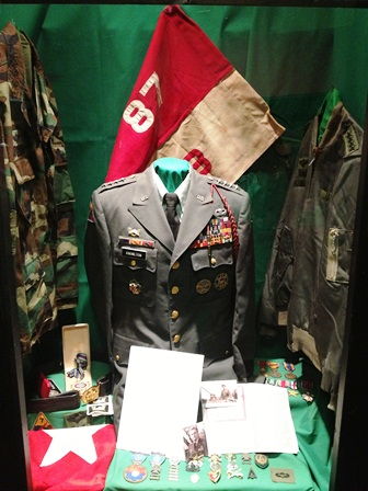 On Display: General William Knowlton uniforms etc.