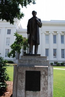 The statue is located on the grounds of the Alabama State Capitol. Photo: Brandon Fletcher, via the Historical Marker Database